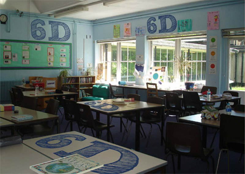 The Decorated Classroom