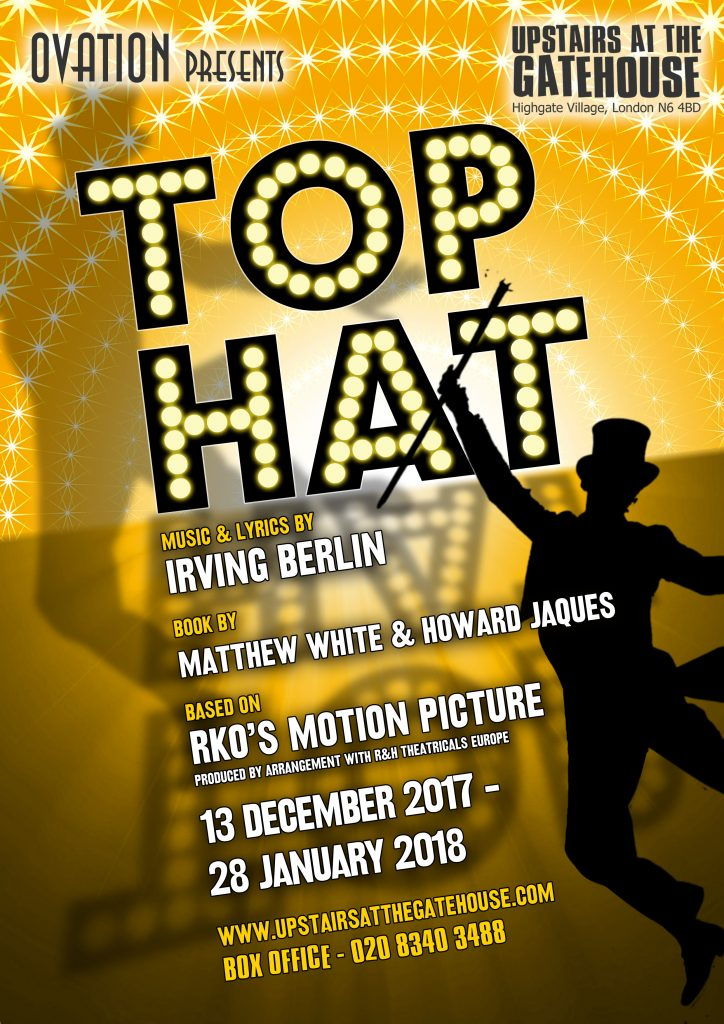 Top Hat poster design