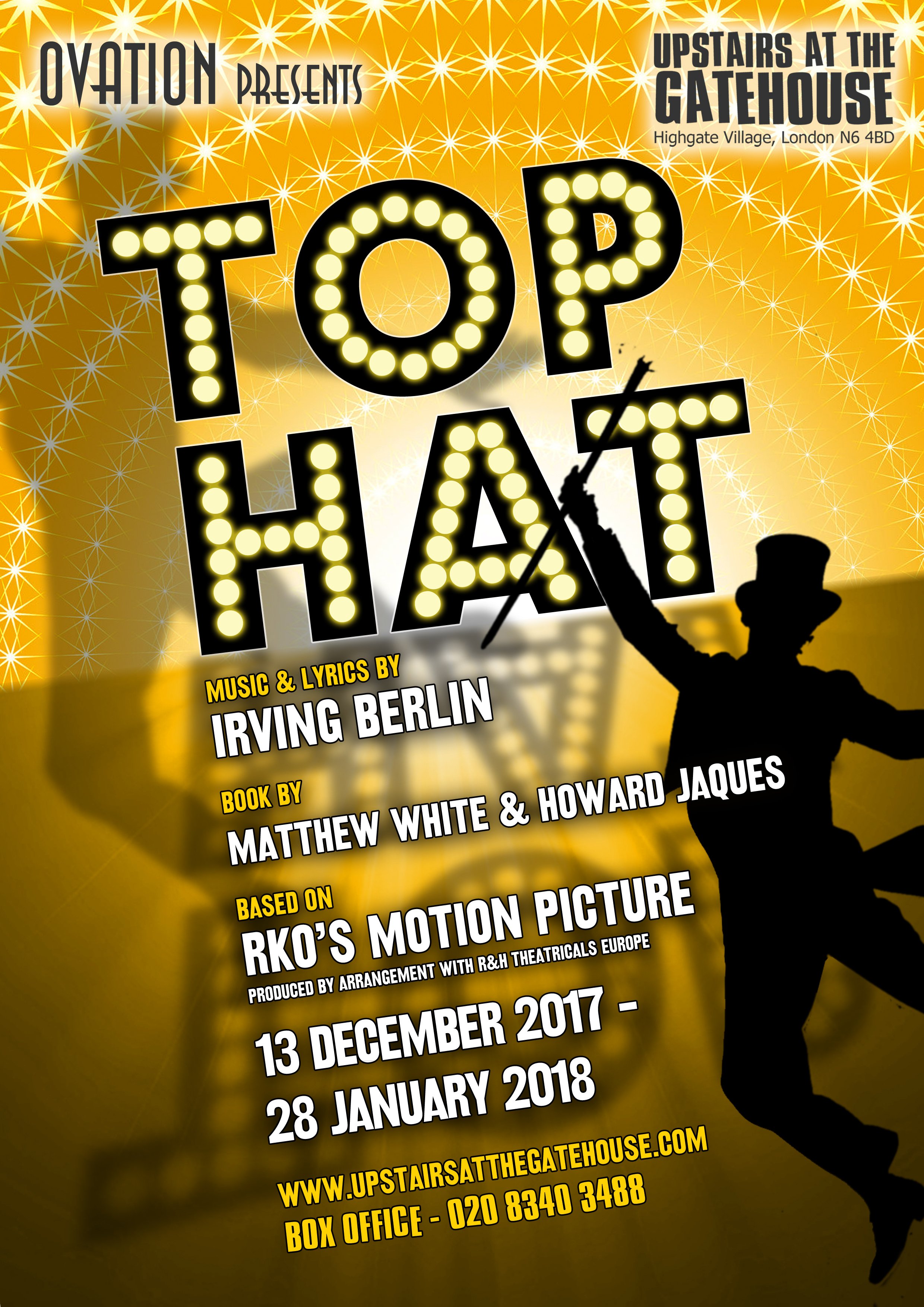 Top Hat poster design