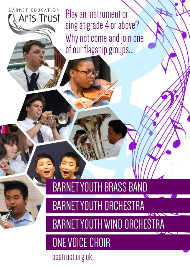 Barnet Education Arts Trust poster