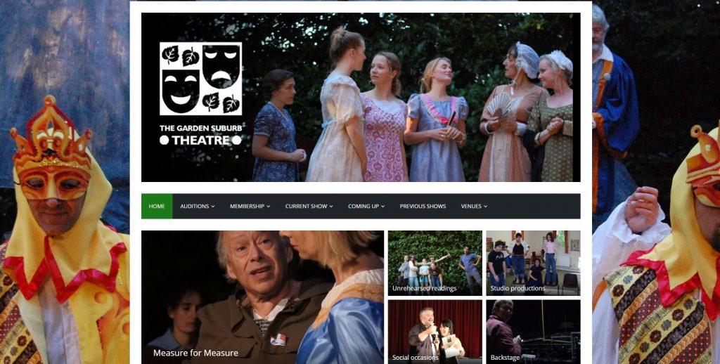 Garden Suburb Theatre website