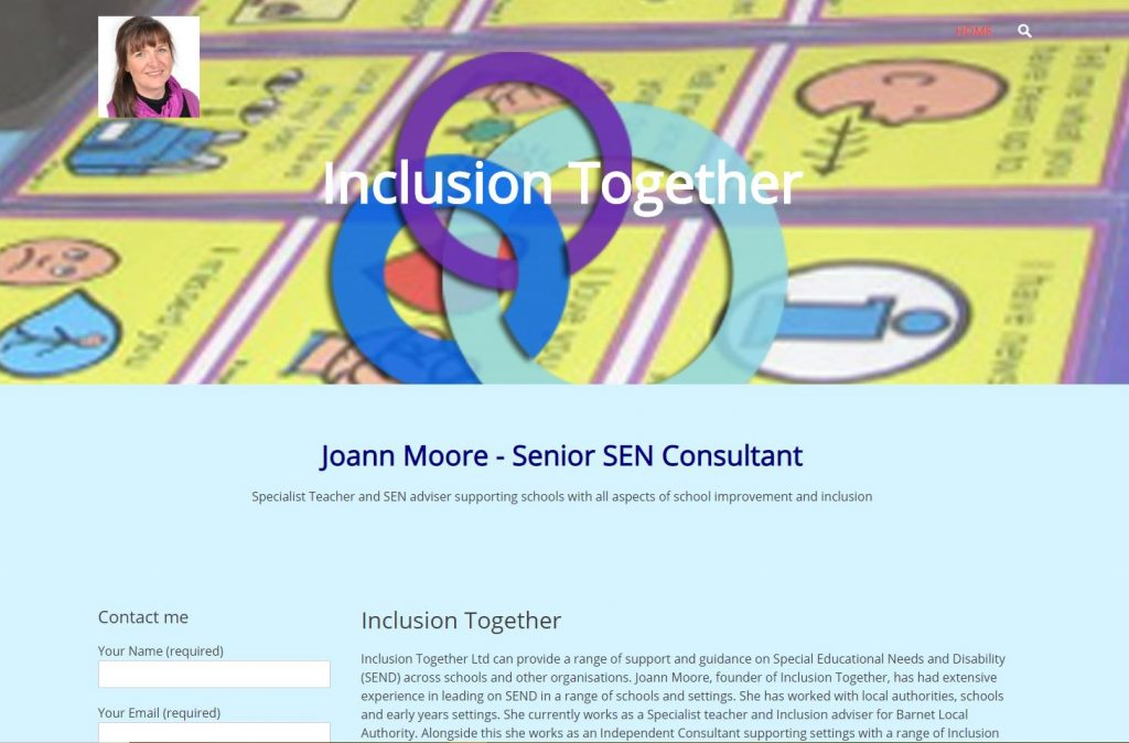 Inclusion Together website